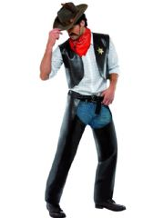 YMCA Cowboy Fancy Dress Costume